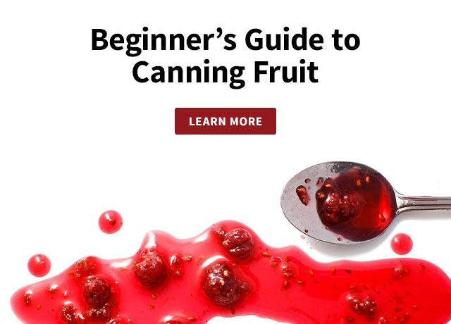 Beginner's Guide to Fruit Canning