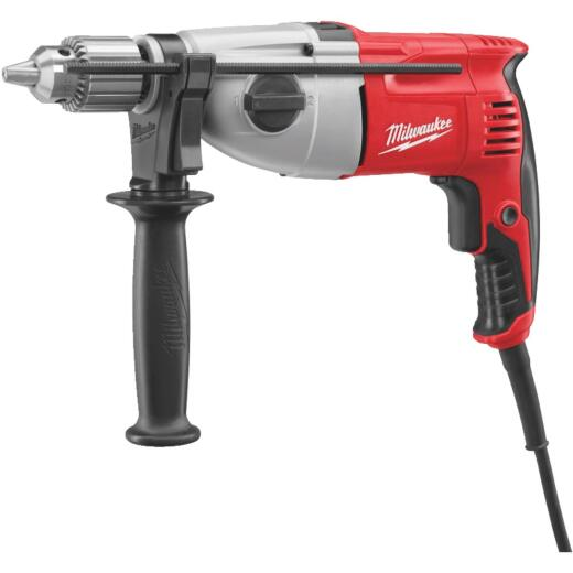 Milwaukee 1/2 In. 7.5A Electric Hammer Drill