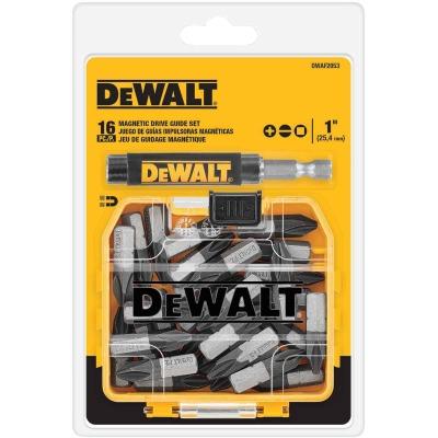DeWalt 16-Piece Magnetic Drive Guide Screwdriver Bit Set w/ToughCase+