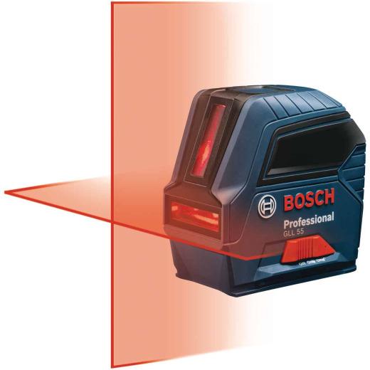 Bosch 50 Ft. Self-Leveling Professional Cross-Line Laser Level