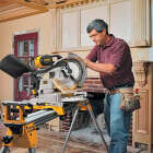 DeWalt 12 In. 15-Amp Dual-Bevel Compound Miter Saw Image 4