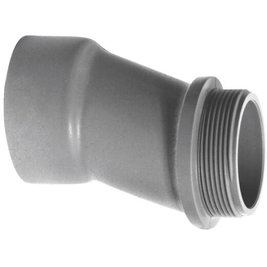 Carlon 1-1/4 In. Offset PVCMeter Connector