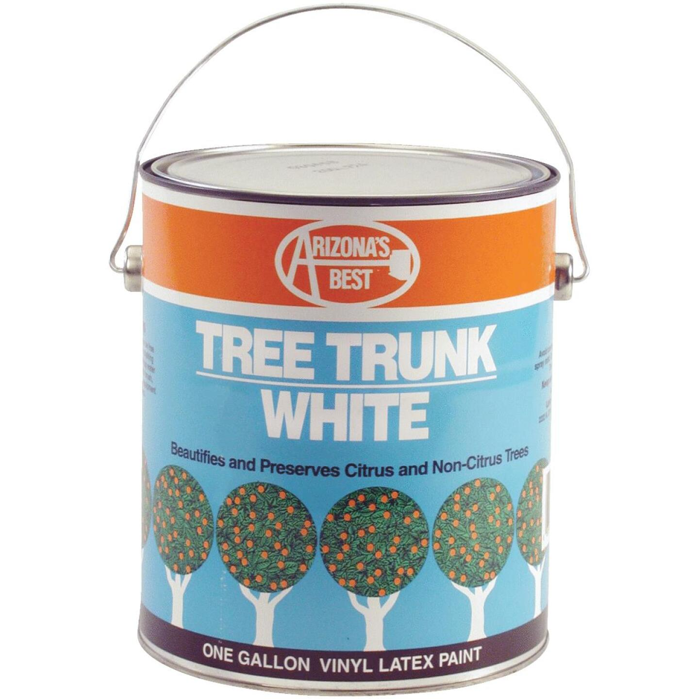 Arizona's Best White Vinyl Latex Paint 1 Gallon Tree Trunk Coating Image 1