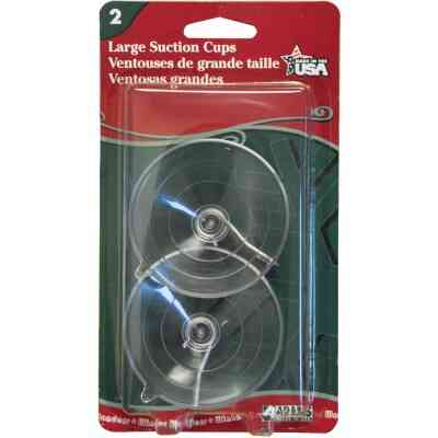 Adams 2-1/2 In. 2 Lb. Holding Capacity Suction Cup (2-Pack)